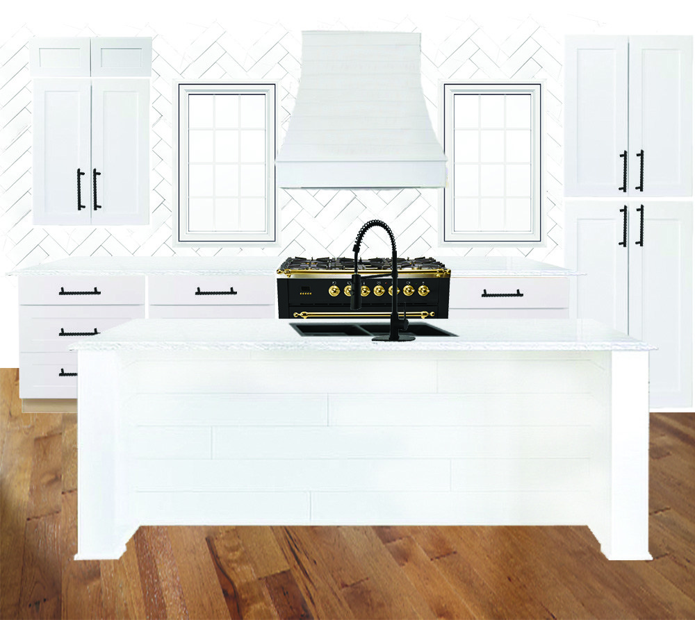 mixing styles of interior design Kitchen-Mood-Board-Basic