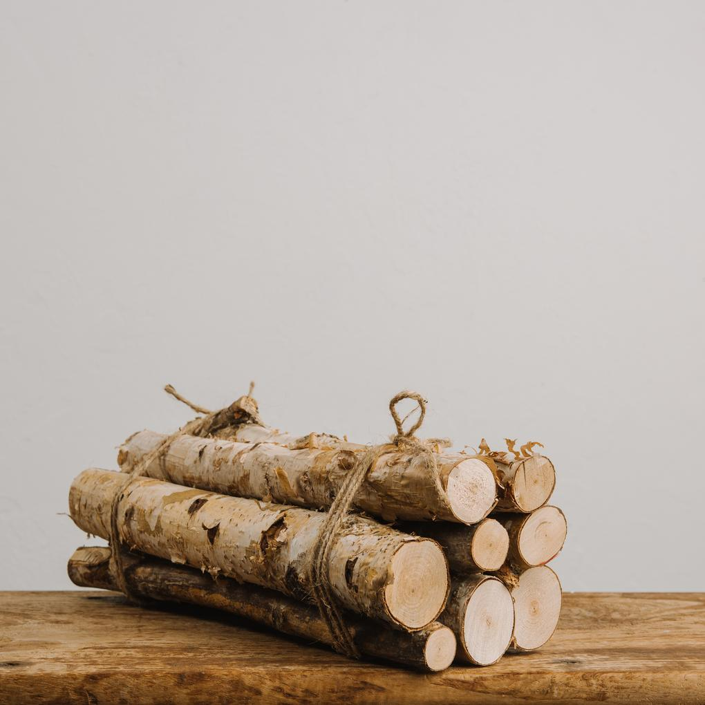 Birch Yule Logs by Magnolia Shop-It or DIY-IT
